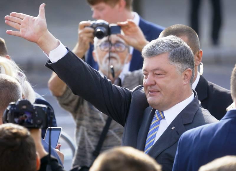 Пользователи ответили Порошенко на поздравление жителей Донецка
