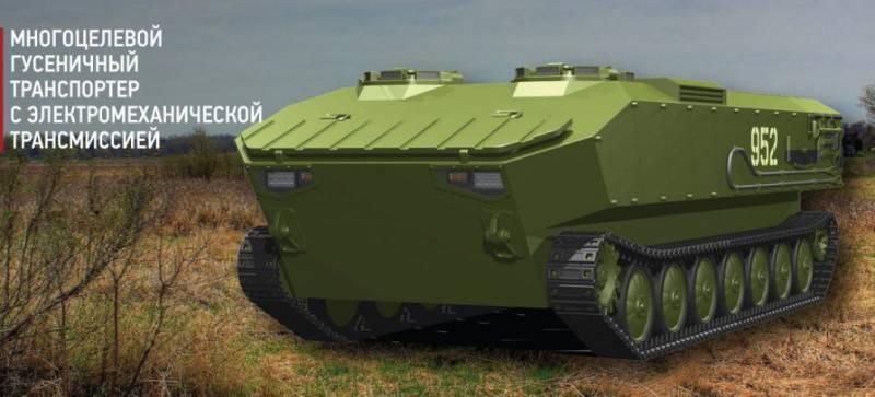 военный гусеничный транспортер
