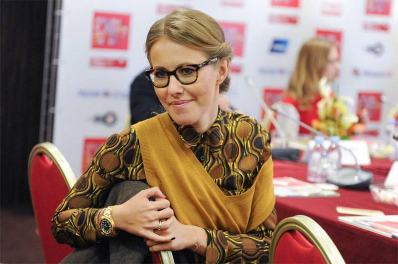 Mídia: parceiro de luta para Vladimir Putin nas eleições poderia ser Ksenia Sobchak