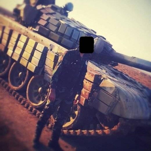 По некоторым характеристикам сирийские Т-72Б не уступают более современным танкам