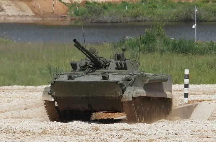 O conjunto de batalhão BMD-4M será entregue à Divisão Aerotransportada de Pskov até o final do ano