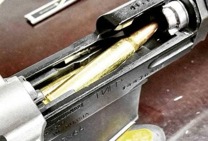 Rifle sniper Dragunov com câmara para .300 Win Mag