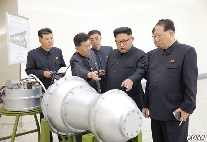 У Пхеньяна появилась водородная бомба