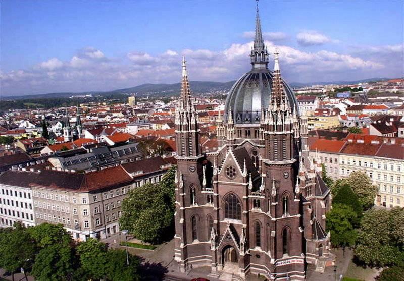 Правительственные учреждения в Вене защитят от террористов бетонной стеной