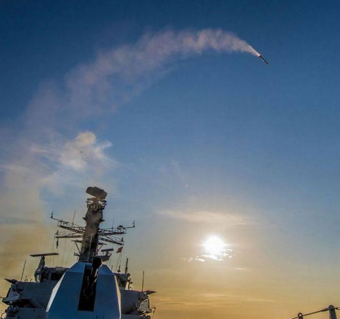 Grã-Bretanha testou os mísseis antiaéreos Sea Ceptor