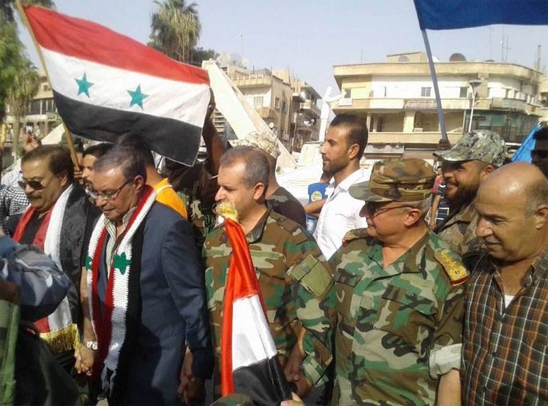 O bloqueio de Deir ez-Zora está quebrado
