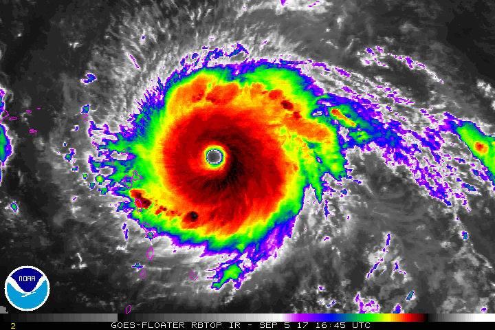 В США из-за урагана «Ирма» эвакуируют военную базу
