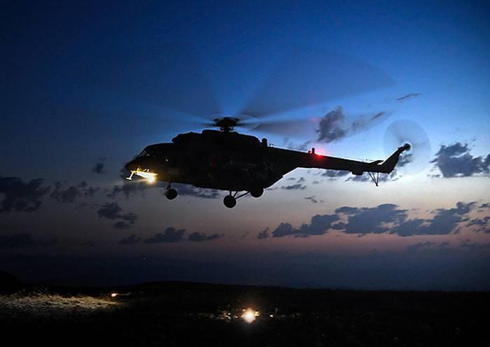 Для транспортной авиачасти ВВО в Хабаровском крае завершилась приемка новых вертолетов Ми-8мтв-5-1