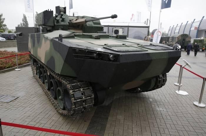 Polônia introduziu o novo BMP Borsuk
