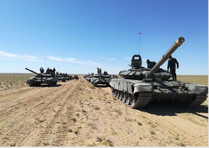 A fase ativa do exercício Selenga-2017 começou no deserto de Gobi, na Mongólia