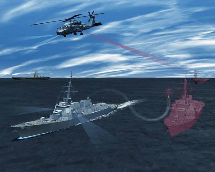 Marinha dos EUA testou novo complexo EW