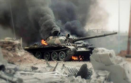 O exército da RAE assumiu o controle da maior fortaleza do IG * na província de Hama