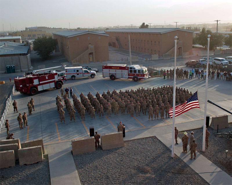 """Грузинские военнослужащие пострадали при теракте у американской базы """"Баграм"""""""