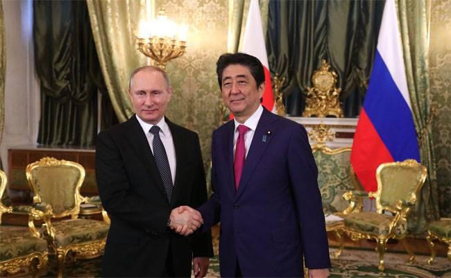Primeiro-ministro do Japão: Vladimir, precisamos assinar um tratado de paz juntos