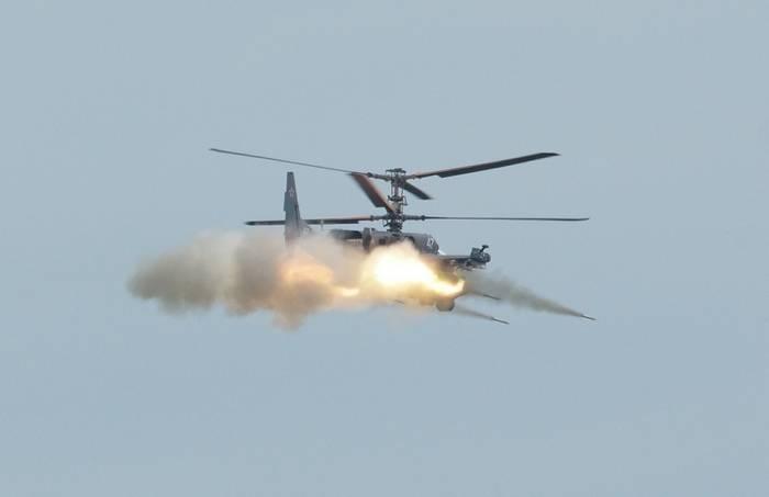 ВКС РФ установили рекорд по интенсивности применения боевых вертолетов