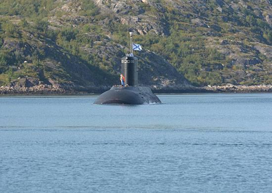 "Submarino ""Vladikavkaz"" retornou à base principal da flotilha de Kola"