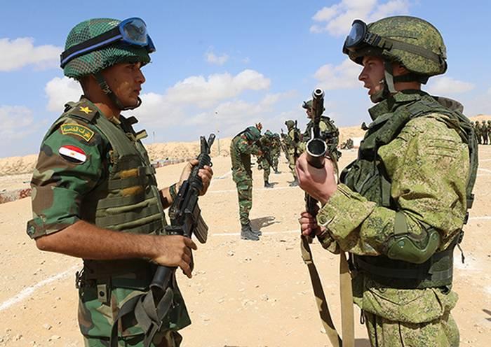 """Pára-quedistas egípcios vai testar o mais novo equipamento russo """"Warrior"""""""