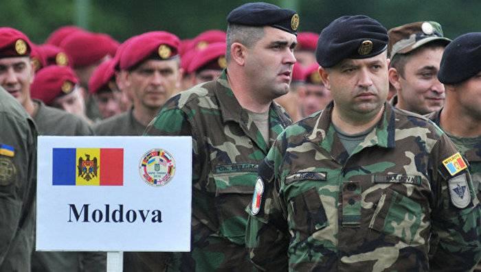 Militares moldavos chegaram aos exercícios na Ucrânia
