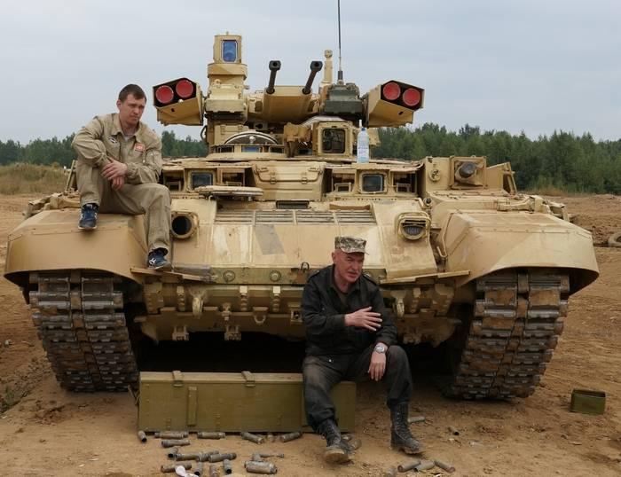 "O BMPT ""Terminator"" foi ""entrado"" na Síria"
