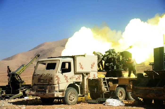 Сирийская армия прорвала блокаду авиабазы в Дейр-эз-Зоре