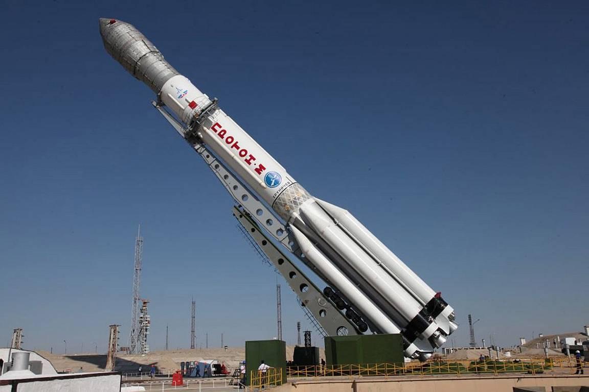 СБайконура стартовала ракета «Протон» сиспанским спутником