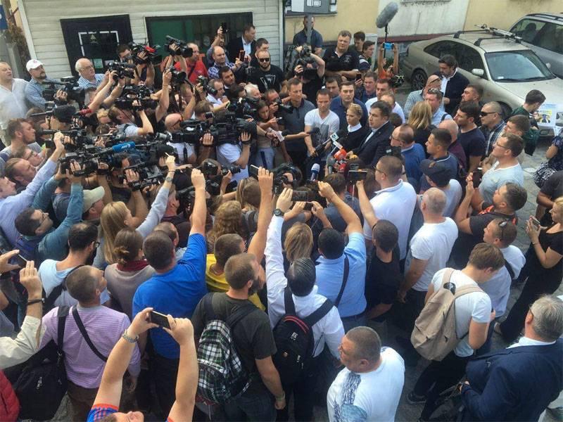 "Saakashvili desembarcou na base ""Pacificador"""