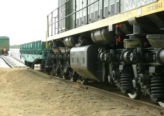 Em VO completou exercícios em larga escala de tropas ferroviárias