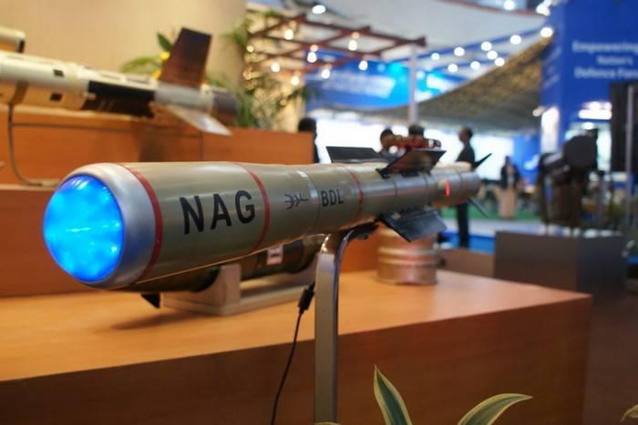 Índia testou com sucesso mísseis anti-tanque de terceira geração