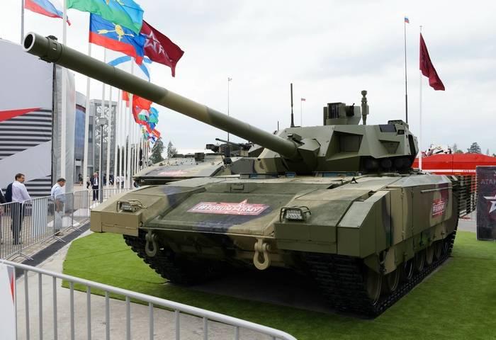 O Ministério da Defesa planeja conduzir operação militar piloto do lote de produtos Armata