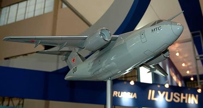 ОАК создает для Минобороны перспективный транспортный самолет