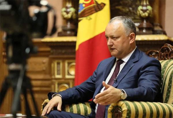 Igor Dodon: Para a unificação da Moldávia com a Transnístria, é necessária a implementação de três condições