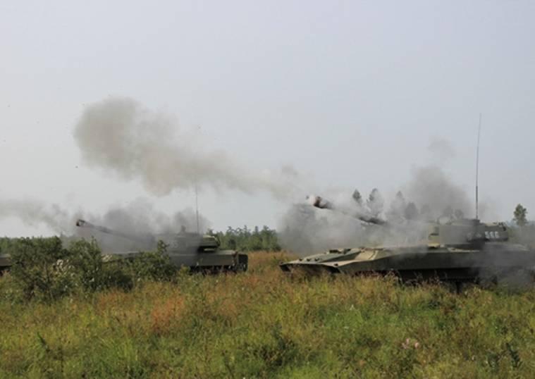 Sobre 7 milhares de artilheiros envolvidos nos exercícios nos desembarques BBO