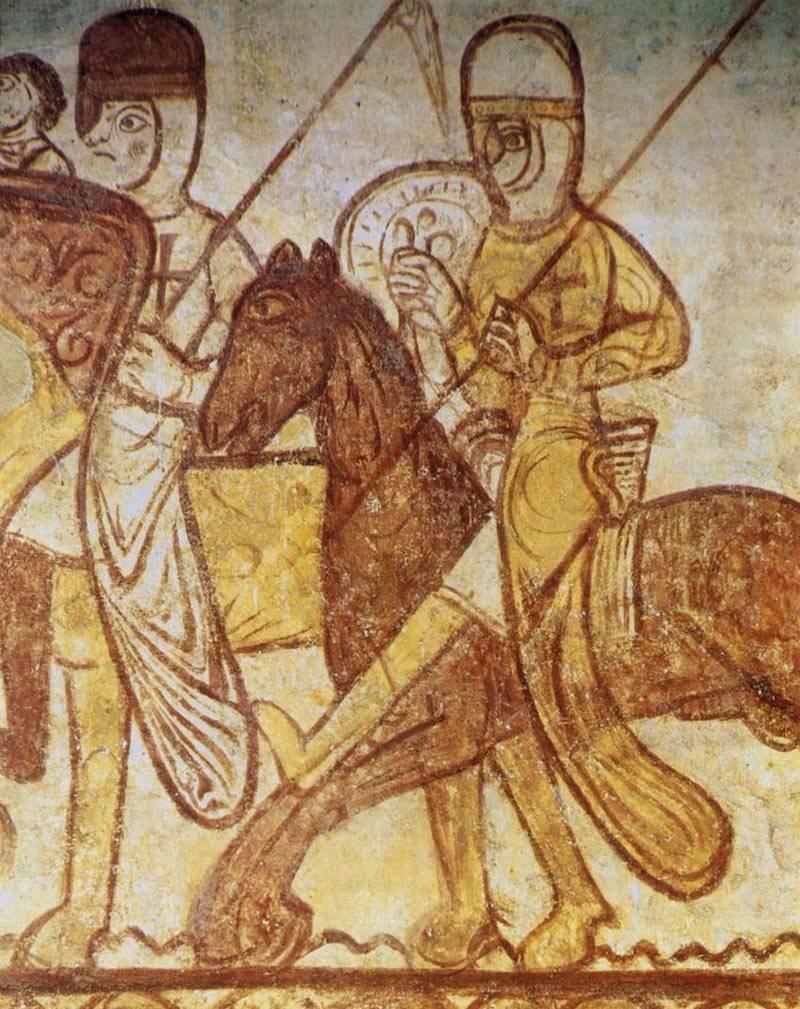 """Batalha de Saul: """"irmãos de armas"""" - cruzados e Pskov"""
