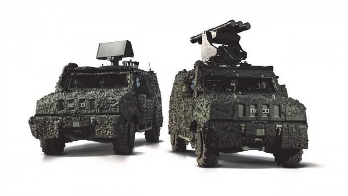 Компания Saab представила ЗРК ближнего действия