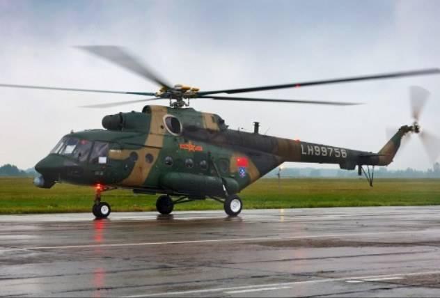 BP iniciou o processo de certificação na China Mi-171