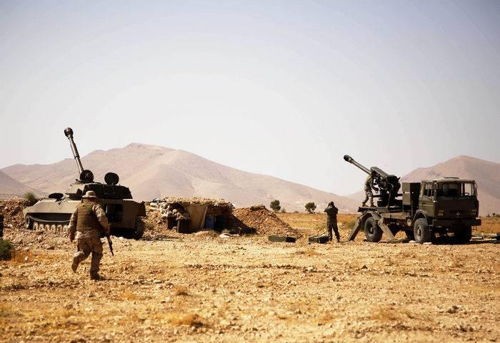 叙利亚军队占据了Deir ez-Zor的战略高度