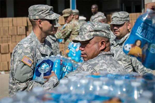 """Как """"Ирма"""" мобилизовала десятки тысяч американских военнослужащих"""