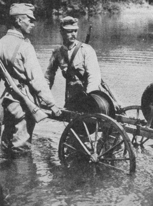 """""""Audiencia"""". Intercepción telefónica en el frente ruso de la Primera Guerra Mundial."""