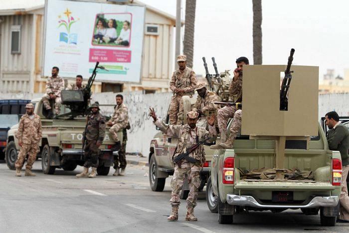 Ливийская армия освободила от террористов юг страны и район Триполи