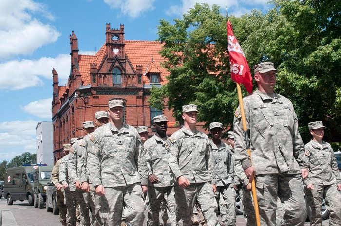 Equipamento de brigada blindada dos EUA roubado na Polônia