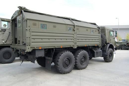 KAMAZ-5350-379 é visto na Síria