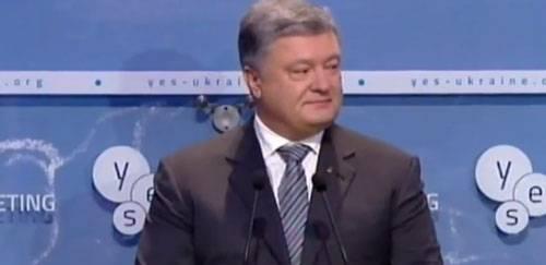 Порошенко верит в возвращение Ялты Украине в 2018 году
