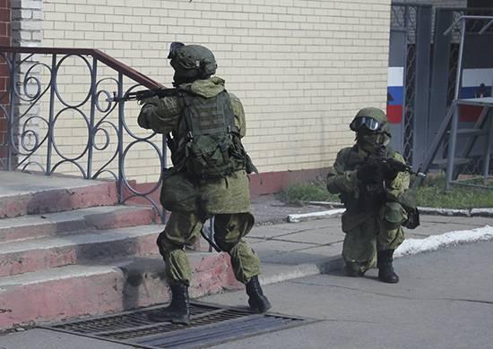 O BBO aprovou uma verificação da prontidão das unidades antiterroristas