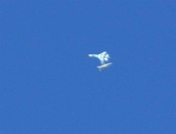 Su-27 sobre Nevada simulou combate aéreo com F-16?
