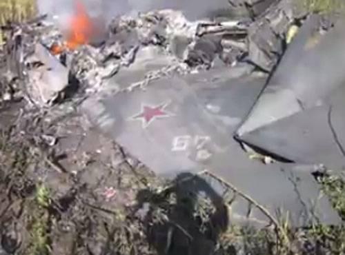 Некоторые подробности крушения Як-130 под Борисоглебском