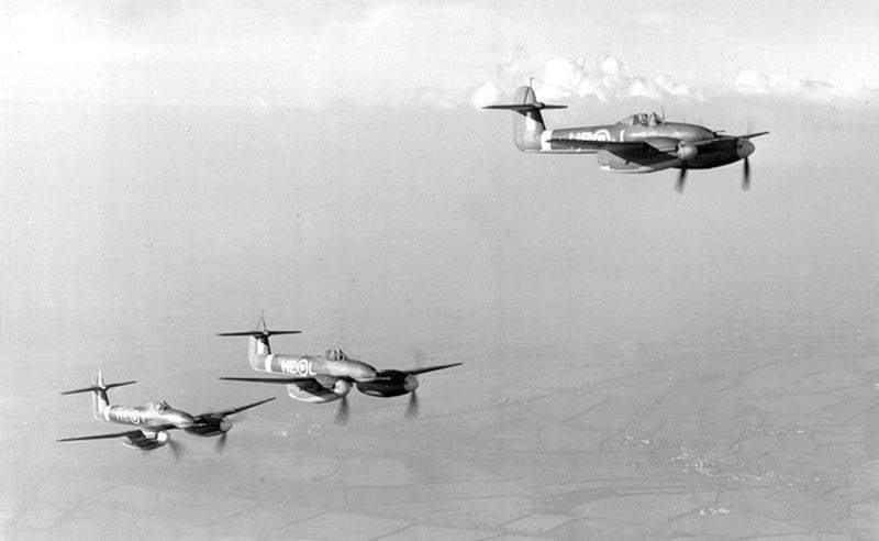 वेस्टलैंड व्हर्लविंड: द्वितीय विश्व युद्ध के ब्रिटिश जुड़वां इंजन सेनानी