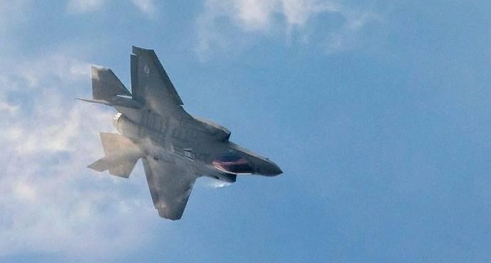 F-35 Força Aérea dos EUA atinge alvos em um campo de treinamento na Coreia do Sul como parte de um exercício conjunto