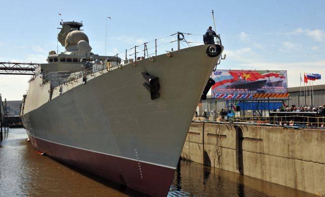 Началась транспортировка сторожевого корабля «Гепард» во Вьетнам