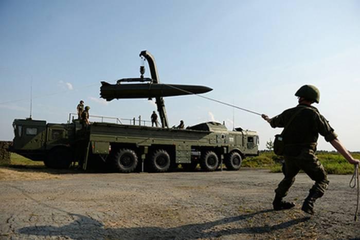 Ракета комплекса «Искандер-М» успешно поразила цель на максимальной дальности