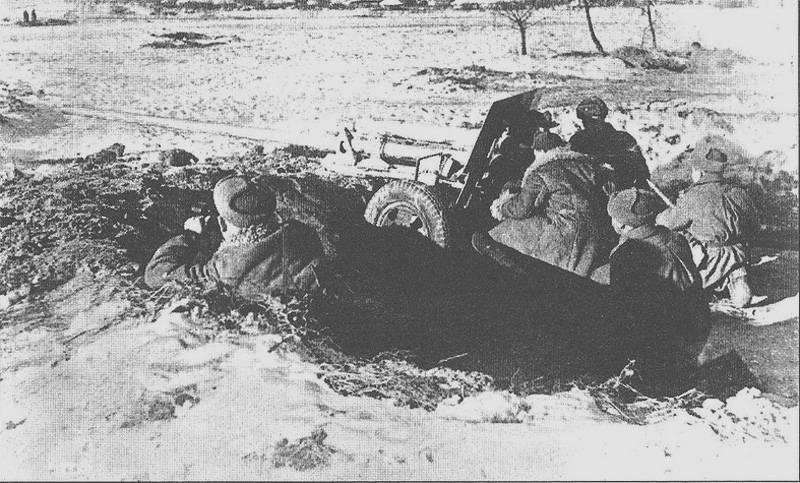Histórias sobre armas. Pistola anti-tanque 57 mm ZIS-2